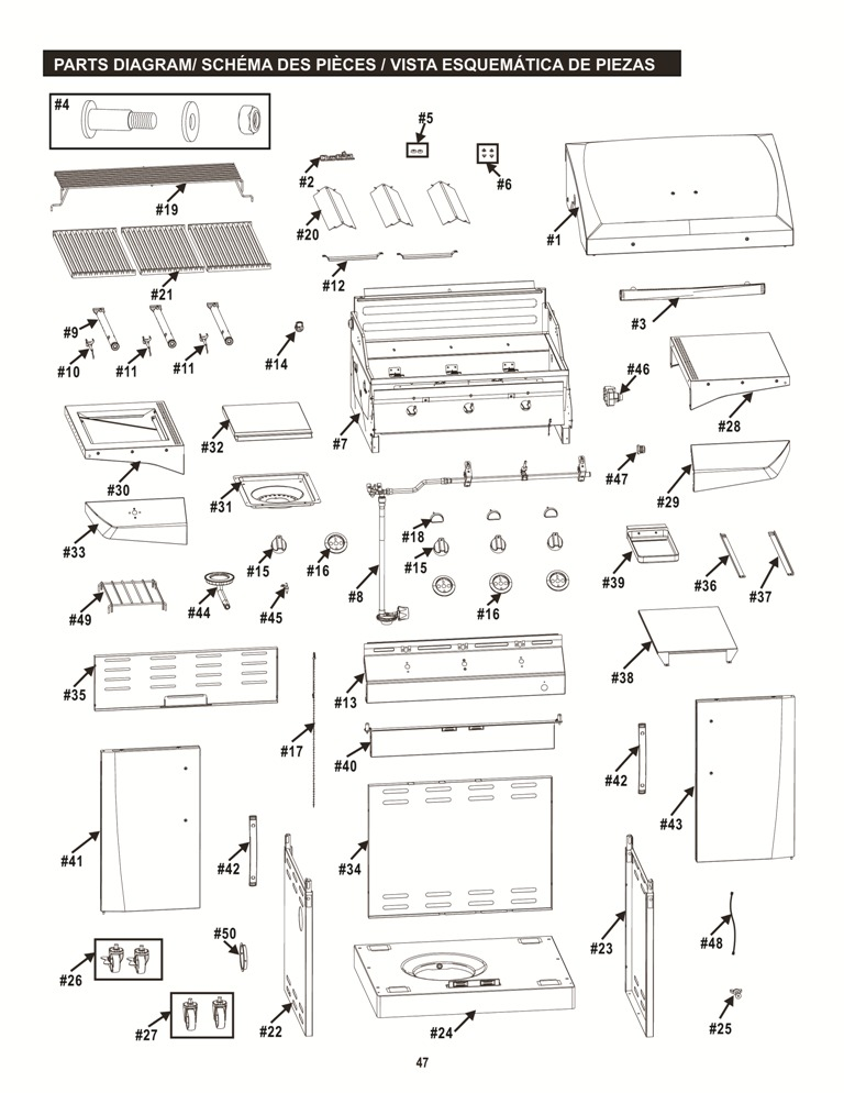 463270915 Exploded View char broil infrared wiring diagram char broil manuals \u2022 edmiracle co  at edmiracle.co