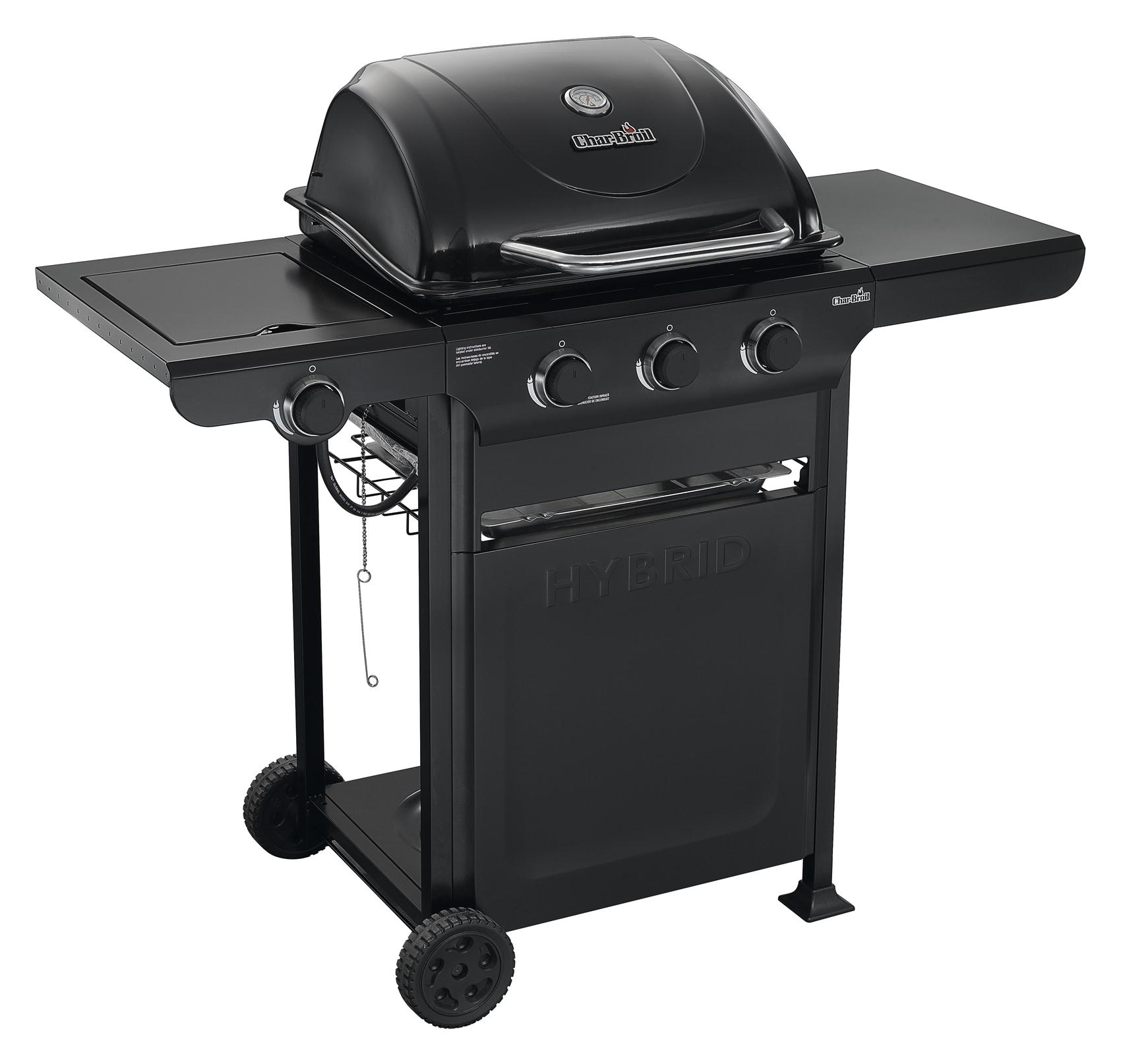 Help For Gas Grill Hybrid With Sideburners Char Broil