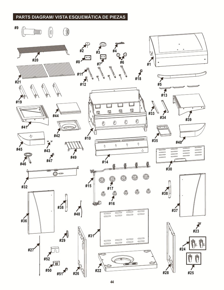 463446015 exploded view help for classic dual fuel gas grill with sideburners classic Char-Broil Infrared Grills Complaints at n-0.co